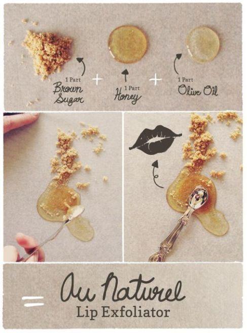 Lip Exfoliation