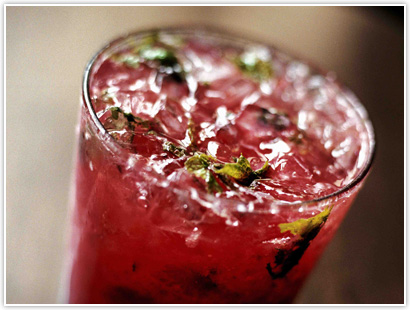 raspberry-honey-mojito