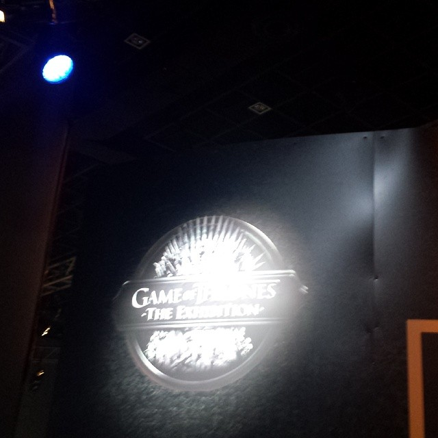 La exposición de game of thrones #gotmx #gotexhibit