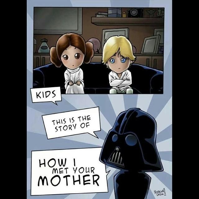 how i met your mother versión starwars
