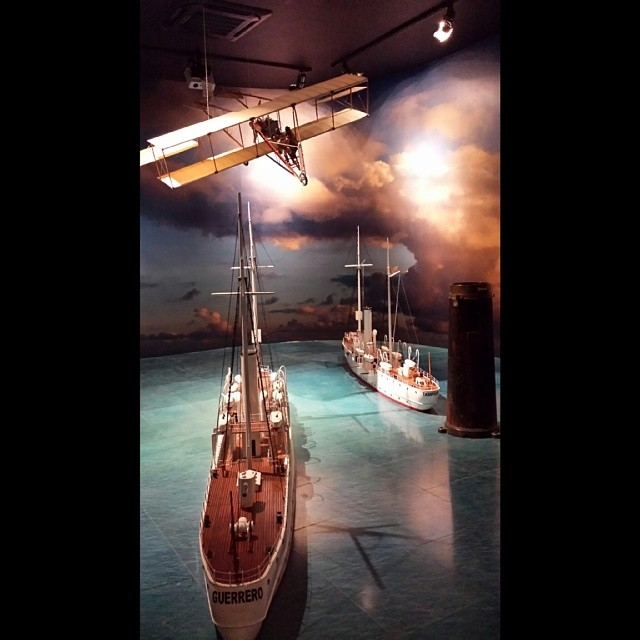 museo naval de méxico sala