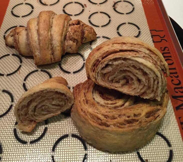 1 Nutella Beurrage Croissant