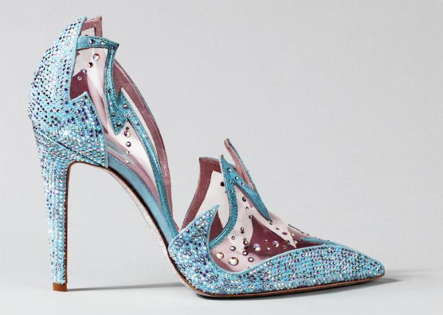 Rene Caovilla Cinderella shoe
