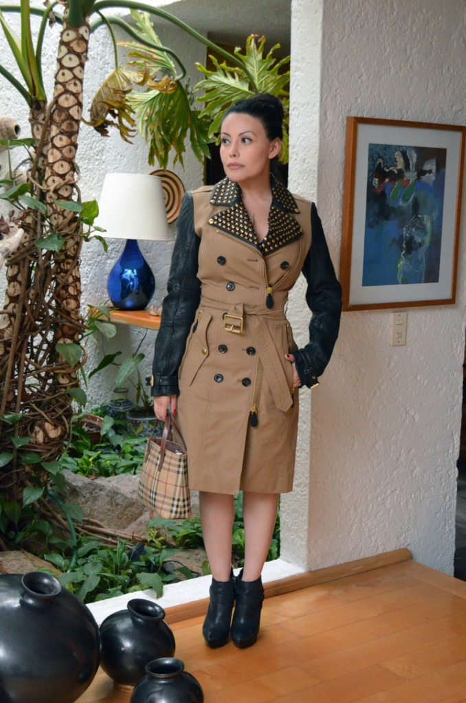burberry trench coat egoswardrobe alicia gaona 2