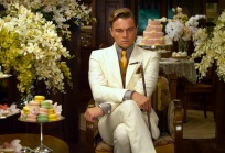 """LEONARDO DiCAPRIO as Jay Gatsby in Warner Bros. Pictures' and Village Roadshow Pictures' drama """"THE GREAT GATSBY,"""" a Warner Bros. Pictures release."""