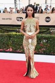 LOS ANGELES, CA - JANUARY 29: TV personality Zuri Hall attends the 23rd Annual Screen Actors Guild Awards at The Shrine Expo Hall on January 29, 2017 in Los Angeles, California. (Photo by Alberto E. Rodriguez/Getty Images)