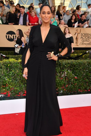 LOS ANGELES, CA - JANUARY 29: Actor Tracee Ellis Ross attends the 23rd Annual Screen Actors Guild Awards at The Shrine Expo Hall on January 29, 2017 in Los Angeles, California. (Photo by Steve Granitz/WireImage)
